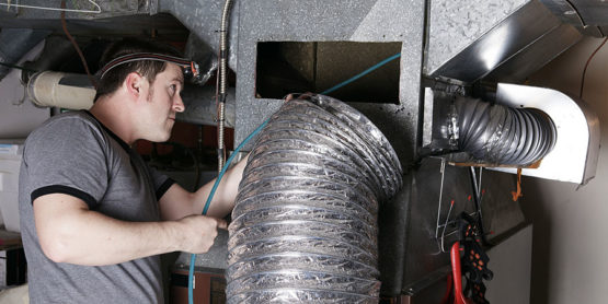 Home Duct Inspection - Oval Duct